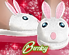 Bunny Slippers White