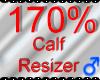 *M* Calf Resizer 170%