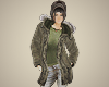 Old Army Surplus Parka