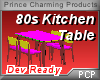 PCP~80s Kitchen Table