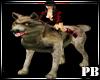 PB A Jacob Rideable Wolf