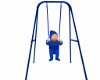 baby swing w/baby