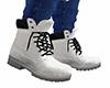 White Work Boots 2 (M)