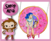A Girl, Her Dog, A Donut