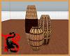 *African Vase Trio
