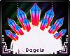 B. Galaxy head crystals