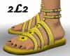2L2 Sunflower Sandals