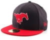 SMU Mustang Fitted Cap