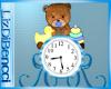 BABY TEDDY CLOCK