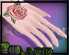 Rose Tattoo Nails