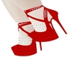 Red Chained Heels