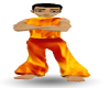 Animated Fire Pants
