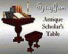 Antique Scholar's Table