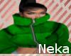 lNl Green Cardi