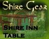 Shire Inn Table