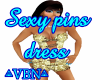 Sexy pins dress BY