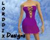 Purple Seduction Dress