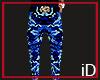 iD: Blue Camo Pants