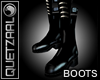 [8Q] LATEX Black Boots