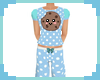 [S] Blue Cookie Pyjamas