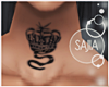 "S! My Crown ""S"" Tatto"