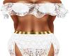White Samira Dress GA