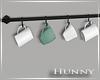 H. Hanging Mugs