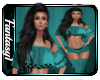 Betty Teal Outfit