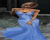 Silk Blue Gown
