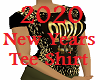 2020 New Years Tee Gold