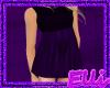 *E* Purple Silk Dress