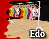 Edo Bikini clothes rack