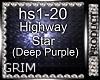 Highway Star/DrumSet