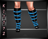 ! Strapy Boots Blue