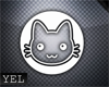 [Yel] Cat W15 sticker