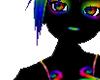 rainbow glowey skin