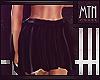 Liquid Black Skirt| XBM