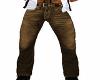 Brown jean