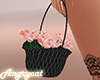 Flower Basket Black