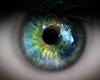 eyes , green man