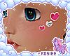 ✿ xoxo face stickers