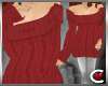 *SC-Snugly Sweater Red