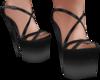 Charcoal grey heels