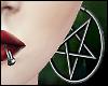 \/ Pentagram Earrings