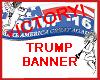 Trump Victory Banner