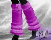 Leg Warmers - Purple