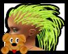 !A! Spike Hair Green