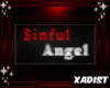 Badge: Sinful Angel