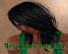 Men's Black Long Hair