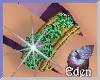 EDEN Emerald Gold Ring M